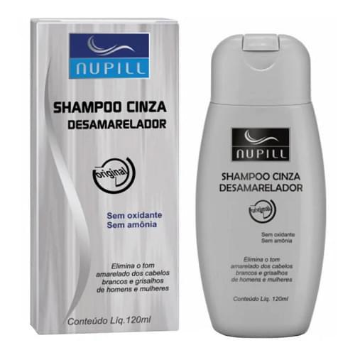 Imagem de Shampoo cinza desamarelador 120ml nupill