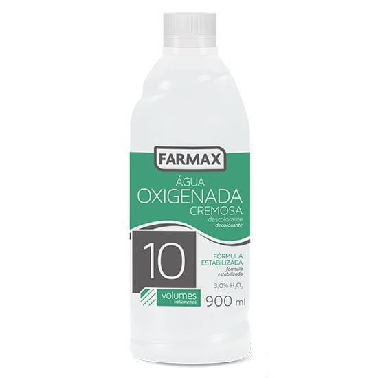 Imagem de Agua oxigenada cremosa 10v 900ml farmax
