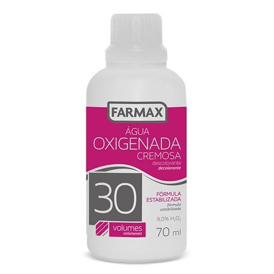 Imagem de Agua oxigenada cremosa 30v 70ml farmax