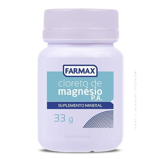 Imagem de Cloreto de magnesio 33g farmax