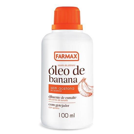 Imagem de Diluente de esmalte oleo banana 100ml farmax