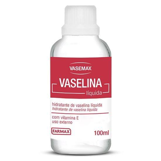 Imagem de Hidratante de vaselina liq. vasemax 100ml farmax