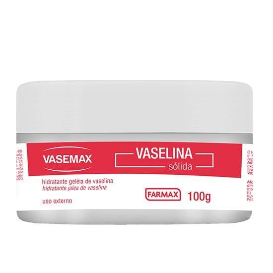 Imagem de Hidratante geleia de vaselina vasemax 100g farmax