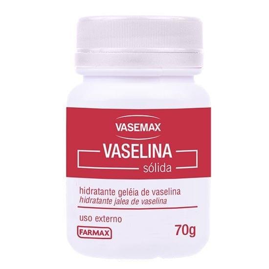 Imagem de Hidratante geleia de vaselina vasemax 70g farmax