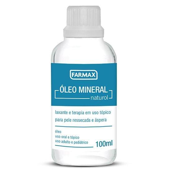 Imagem de Oleo mineral nat. med. 100ml farmax