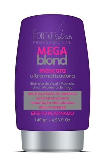 Imagem de Máscara matizadora mega blond ultra matizadora 140g forever liss
