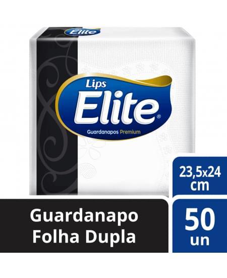 Imagem de Guardanapo folha dupla elite com 50 unids de 23,5 x 24 cm softys