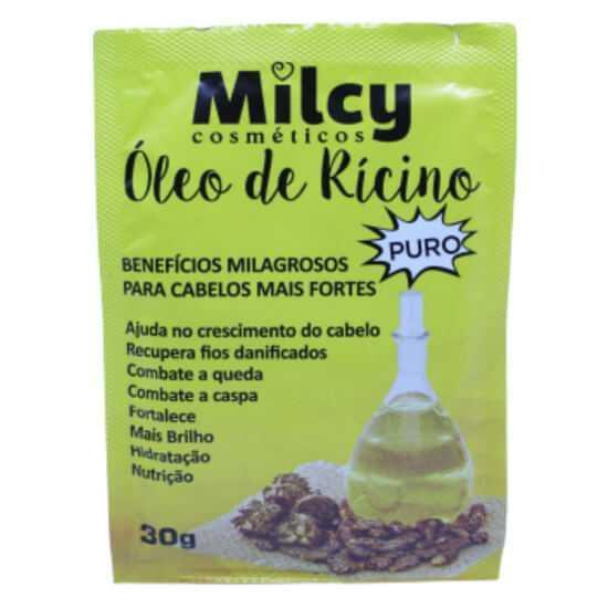 Imagem de Milcy sachet capilar 30g oleo de ricino