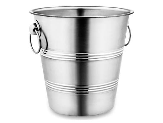 Imagem de Balde gelo aluminio 1.3litros inox hercules whisky drinks