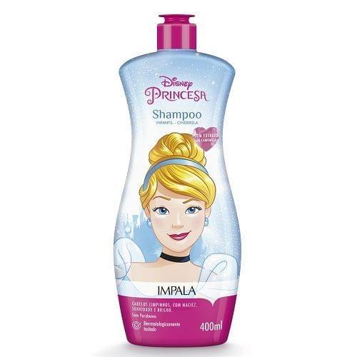 Imagem de Shampoo infantil disney cinderela 400ml impala
