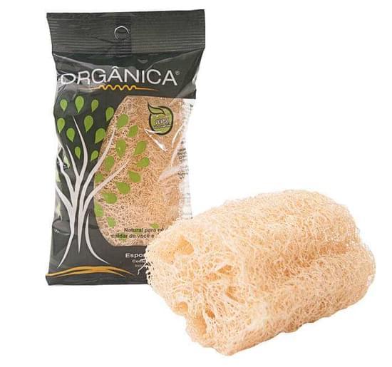 Imagem de Esponja bucha natural em pedaço orgânica