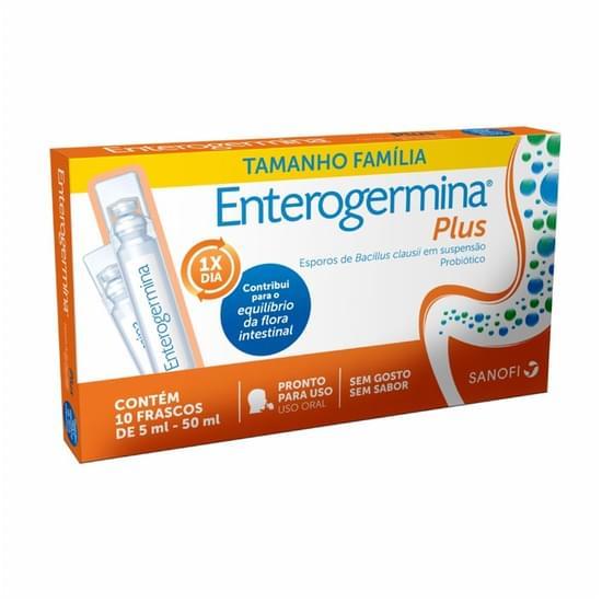 Imagem de Probiótico enterogermina 4 bcfu 5ml x 10 frascos