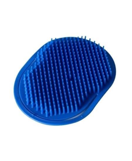 Imagem de Escova de plastico oval para massagem santa clara