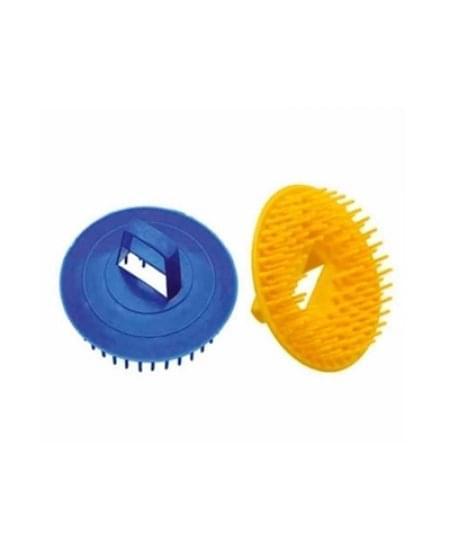 Imagem de Escova de plástico redonda para massagem santa clara
