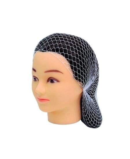 Imagem de Rede grossa preta para cabelo com 2 unidades santa clara