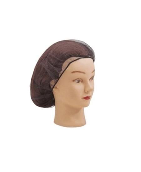 Imagem de Rede para cabelo industrial preto santa clara