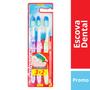 Imagem de Escova dental média colgate c/3 leve 3 pague 2 extra clean