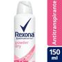 Imagem de Desodorante aerosol rexona 150ml powder