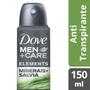 Imagem de Desodorante aerosol dove 150ml masc minerals+salvia