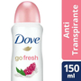 Imagem de Desodorante aerosol dove 150ml fem fresh granada